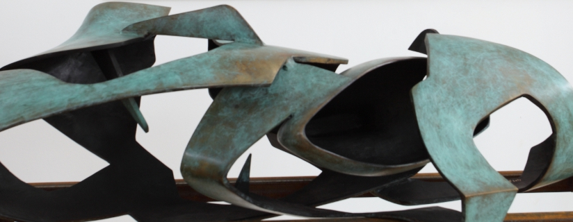 Krzysztof M. Bednarski. Moby Dick - rzeźba
